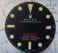 1970s MKIV BEAUTIFUL ROLEX 1680 RED SUBMARINER DIAL