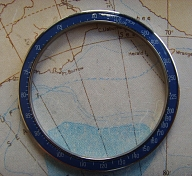 TUDOR ROLEX MONTECARLO VINTAGE ORIGINAL 7149 BLUE BEZEL