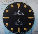 1970s RARE & STUNNING ROLEX MILITARY SUBMARINER DIAL