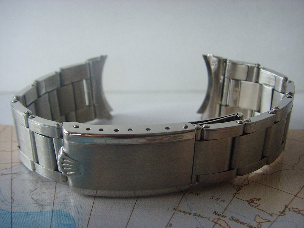 1969 ROLEX OYSTER RIVET 20MM BRACELET REFERENCE 7206-58 FOR GMT 6542 & 1675 - Imagen 2