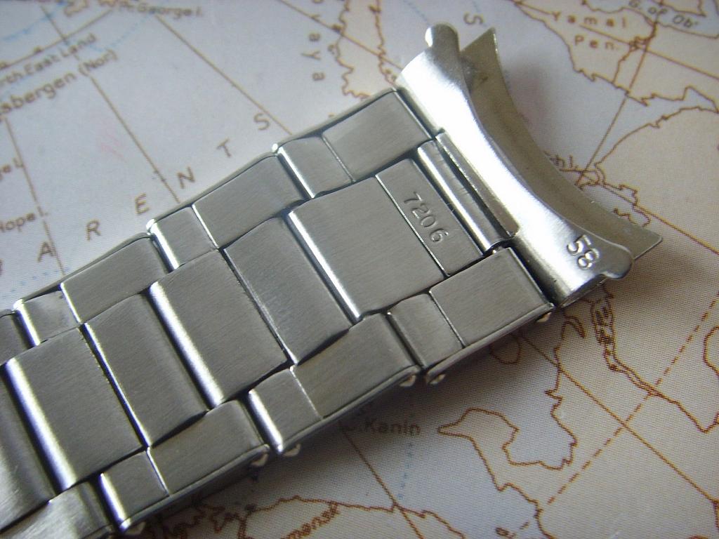 1969 ROLEX OYSTER RIVET 20MM BRACELET REFERENCE 7206-58 FOR GMT 6542 & 1675 - Imagen 3