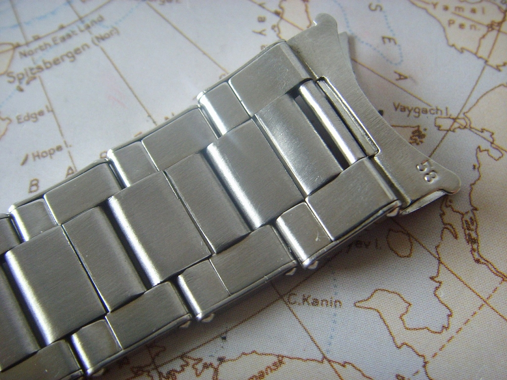 1969 ROLEX OYSTER RIVET 20MM BRACELET REFERENCE 7206-58 FOR GMT 6542 & 1675 - Imagen 4