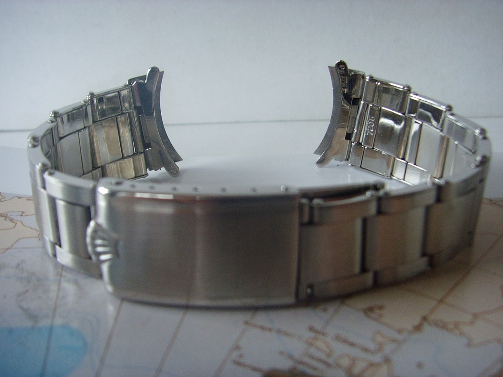 1969 ROLEX 7206-80 ROLEX OYSTER RIVET BRACELET FOR 5512, 5513 SUBMARINERS - Imagen 2