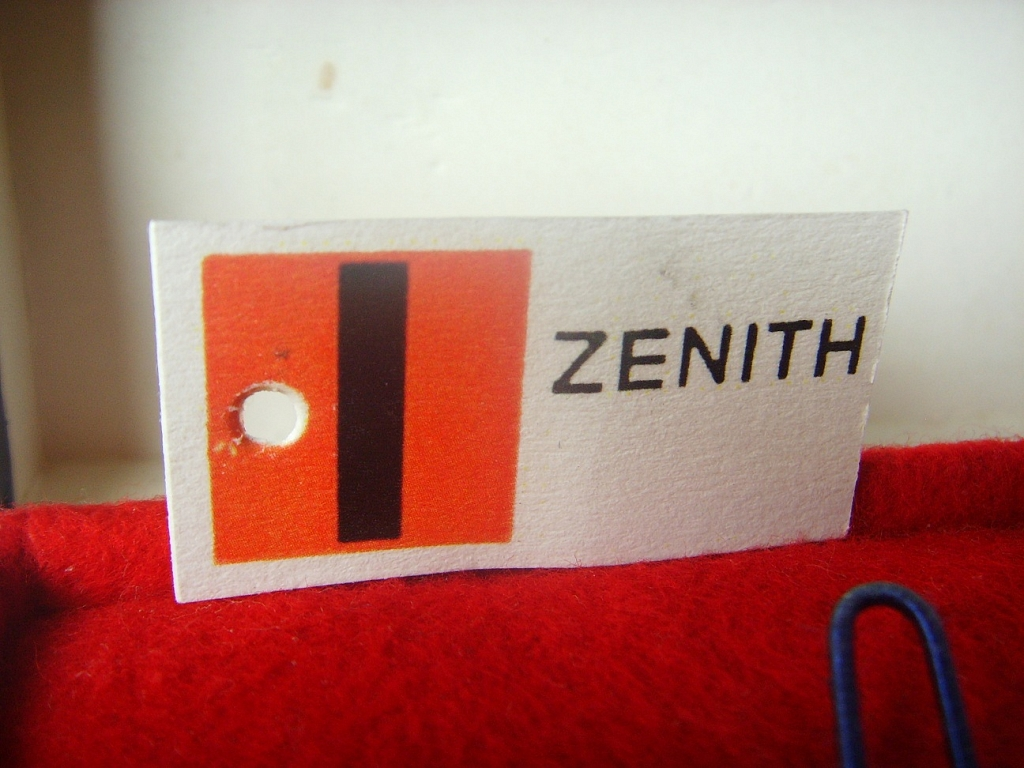 ZENITH EL PRIMERO 3019 BOX, TAG AND BLANK PAPERS - Imagen 2