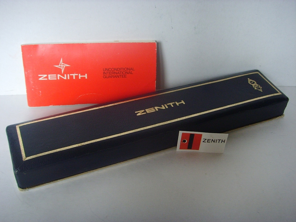ZENITH EL PRIMERO 3019 BOX, TAG AND BLANK PAPERS - Imagen 6