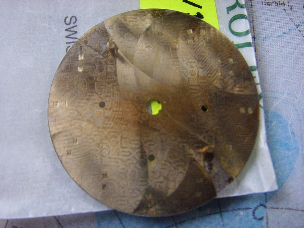 ROLEX 16528 DAYTONA ZENITH GOLD DIAL / LIKE NEW - Imagen 3
