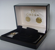 1960s OMEGA SPEEDMASTER SEAMASTER LARGE METALLIC BOX