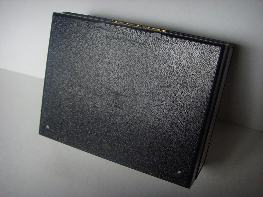 1960s OMEGA SPEEDMASTER SEAMASTER LARGE METALLIC BOX - Imagen 5