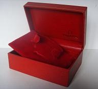 1970s OMEGA SPEEDMASTER RED LEATHER BOX