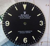 1980s ROLEX EXPLORER I REF 1016 MKIV MATTE DIAL NOS CONDITION