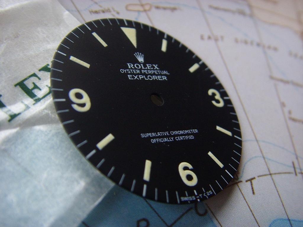 1980s ROLEX EXPLORER I REF 1016 MKIV MATTE DIAL NOS CONDITION - Imagen 2