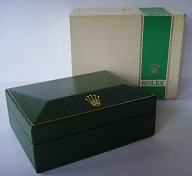 1960s - 1970s ROLEX SPORTS GREEN STRIPE BOXES 1680 RED SUBMARINER