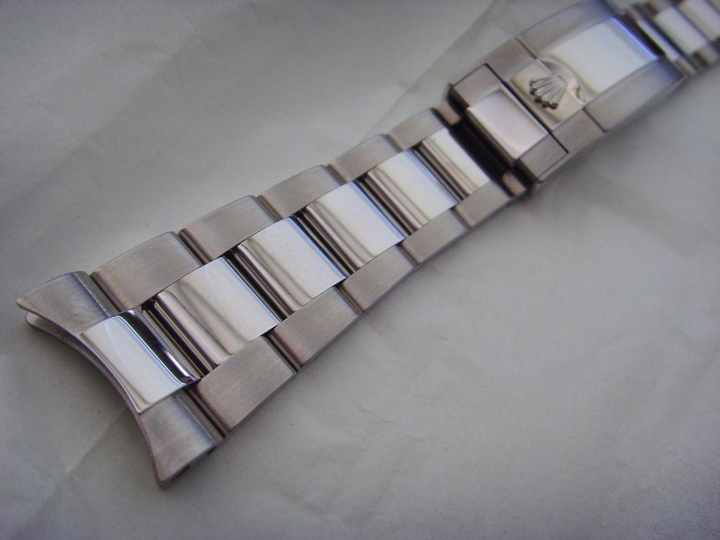 2012 NEW ROLEX 16710 GMT BRACELET COMPLETE UNUSED - Imagen 2