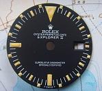 1972 NEW OLD STOCK ROLEX EXPLORER II 1655 DIAL & HANDS
