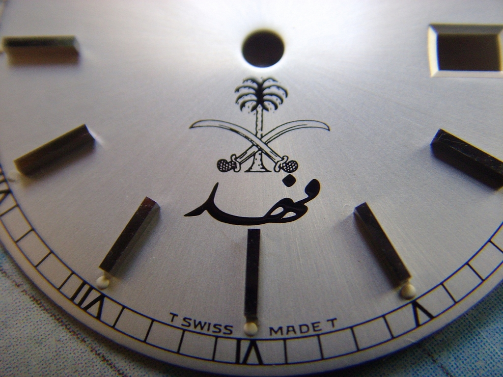 1980s VERY RARE ROLEX 18039 PRESIDENT UAE MILITARY NOS DIAL - Imagen 2