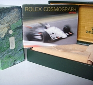 ROLEX DAYTONA ZENITH REF 16520 DOUBLE BOX & BOOKLET