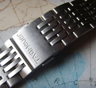LIKE NEW TAG HEUER STEEL BRACELET FOR TAG HEUER AUTAVIA