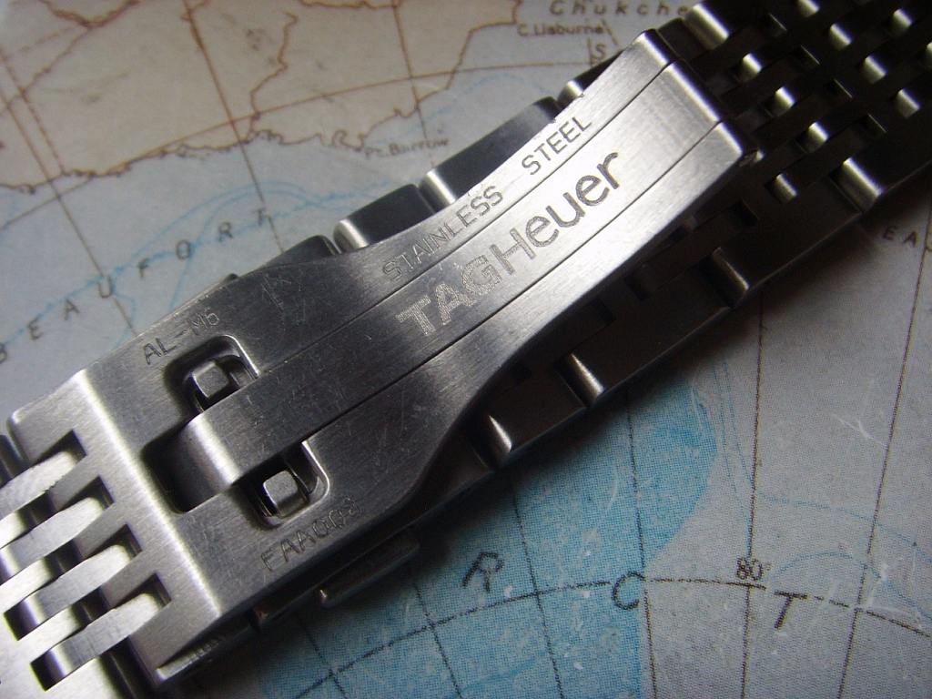 LIKE NEW TAG HEUER STEEL BRACELET FOR TAG HEUER AUTAVIA - Imagen 2