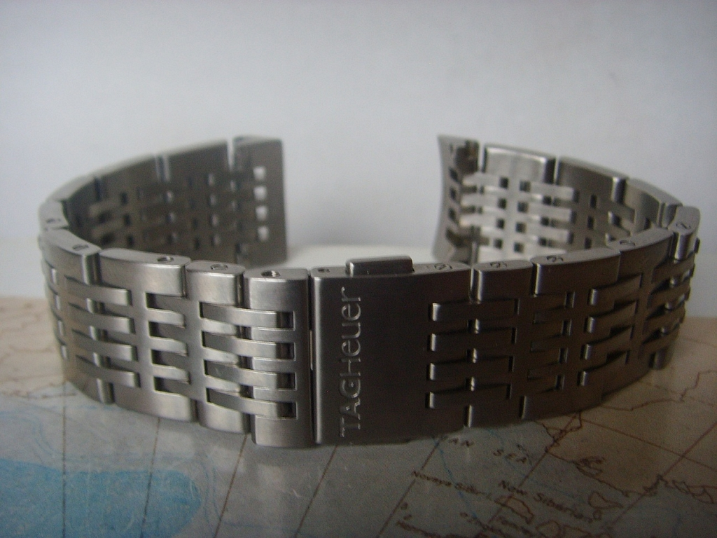 LIKE NEW TAG HEUER STEEL BRACELET FOR TAG HEUER AUTAVIA - Imagen 7