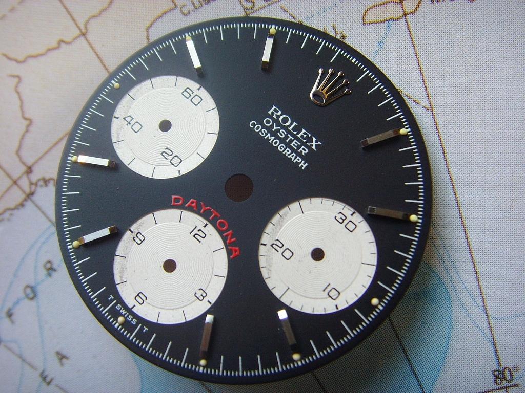 1970s ROLEX DAYTONA 6263 6265 BIG RED DIAL (TRITIUM) - Imagen 5