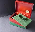 1990s ROLEX 16528 DAYTONA ZENITH GOLD TEAK INNER & OUTER BOXES